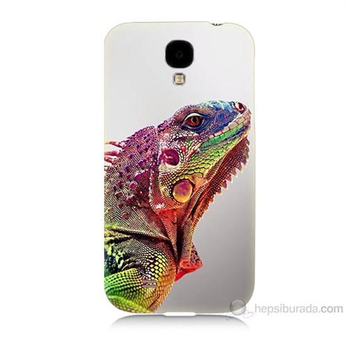 Teknomeg Samsung Galaxy S4 İguana Baskılı Silikon Kılıf