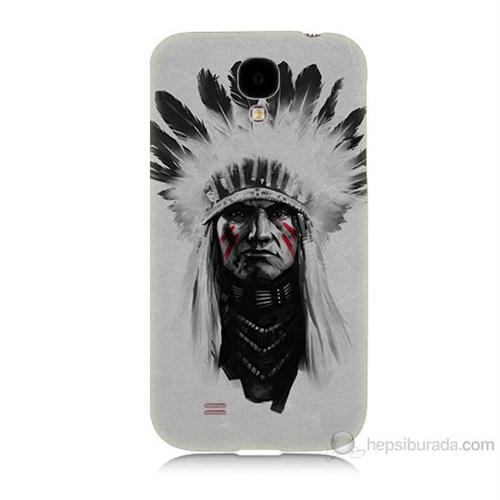 Teknomeg Samsung Galaxy S4 Geronimo Baskılı Silikon Kılıf