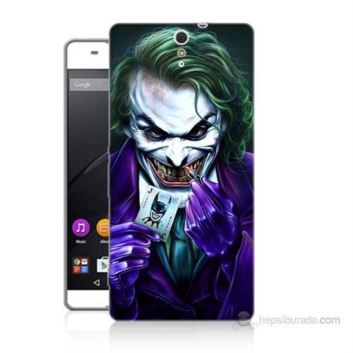 Teknomeg Sony Xperia C5 Joker Baskılı Silikon Kılıf