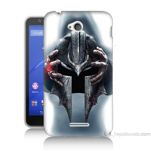 Teknomeg Sony Xperia E4G Assassins Creed Baskılı Silikon Kılıf
