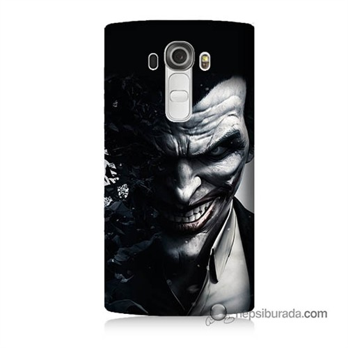 Teknomeg Lg G4 Joker Baskılı Silikon Kılıf