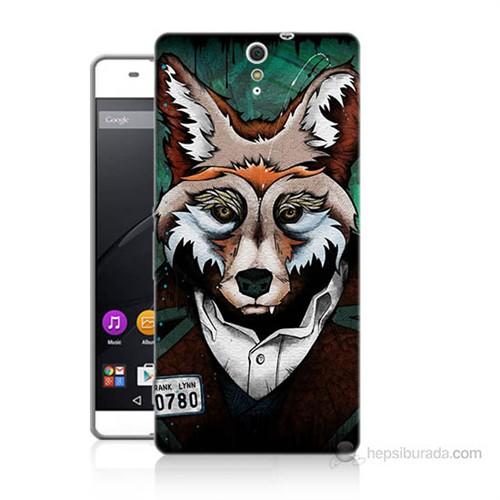 Teknomeg Sony Xperia C5 Bad Wolf Baskılı Silikon Kılıf