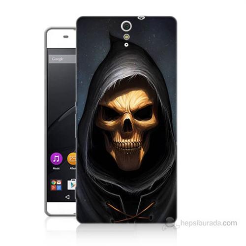 Teknomeg Sony Xperia C5 Ölüm Meleği Baskılı Silikon Kılıf