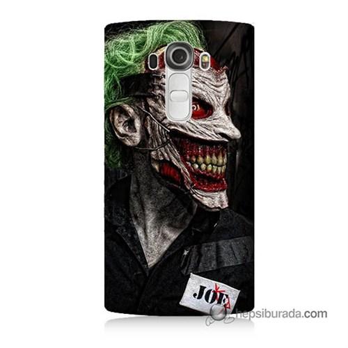Teknomeg Lg G4 Joker Joe Baskılı Silikon Kılıf