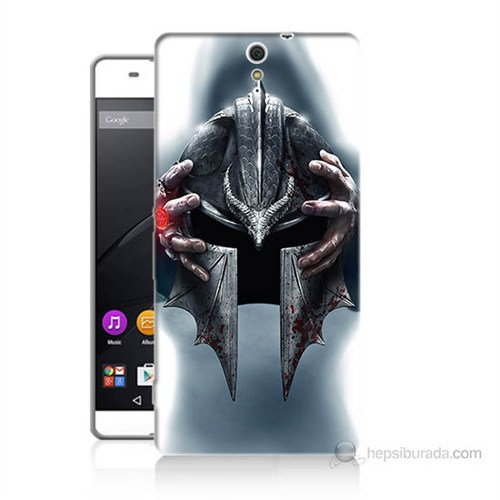 Teknomeg Sony Xperia C5 Assassins Creed Baskılı Silikon Kılıf