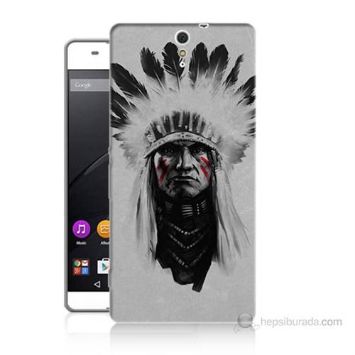 Teknomeg Sony Xperia C5 Geronimo Baskılı Silikon Kılıf