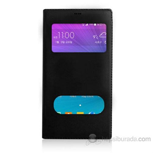 Teknomeg Samsung Grand Max Siyah Pencere Ve Gizli Mıknatıslı