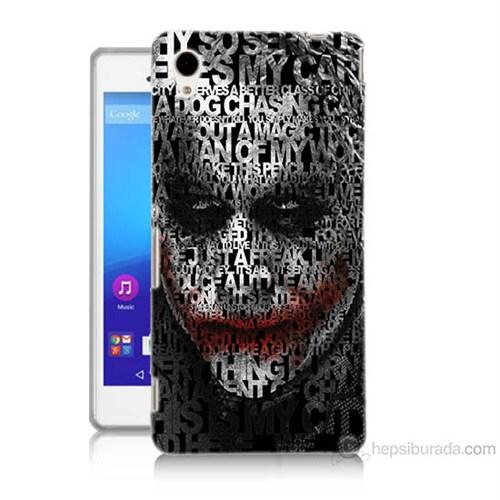 Teknomeg Sony Xperia M4 Joker Baskılı Silikon Kılıf