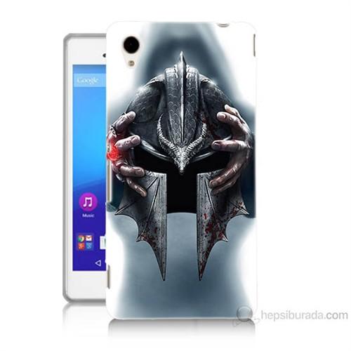 Teknomeg Sony Xperia M4 Aqua Assassins Creed Baskılı Silikon Kılıf