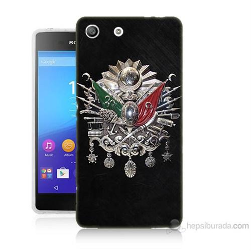 Teknomeg Sony Xperia M5 Osmanlı Baskılı Silikon Kılıf