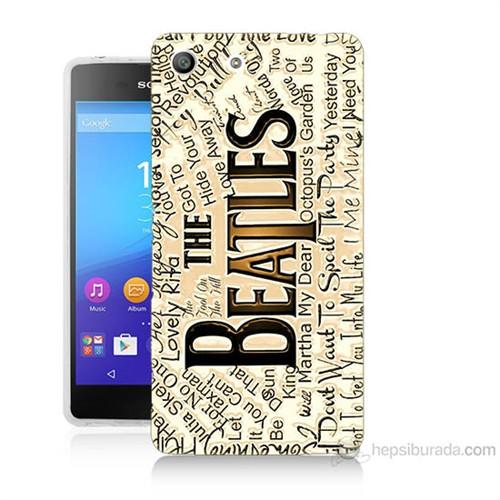 Teknomeg Sony Xperia M5 The Beatles Baskılı Silikon Kılıf