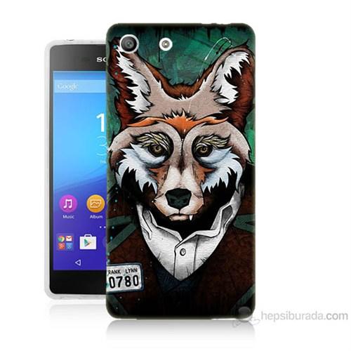 Teknomeg Sony Xperia M5 Bad Wolf Baskılı Silikon Kılıf