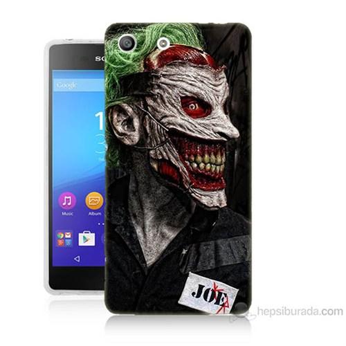 Teknomeg Sony Xperia M5 Joker Joe Baskılı Silikon Kılıf
