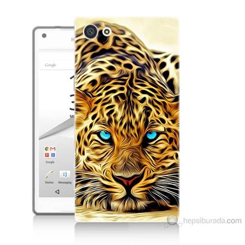 Teknomeg Sony Xperia Z5 Kaplan Baskılı Silikon Kılıf