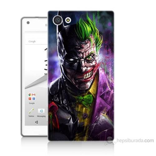 Teknomeg Sony Xperia Z5 Batman Vs Joker Baskılı Silikon Kılıf