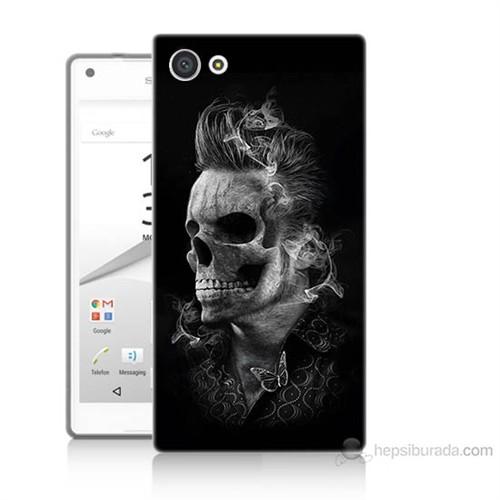 Teknomeg Sony Xperia Z5 Elvis Presley Efsanesi Baskılı Silikon Kılıf