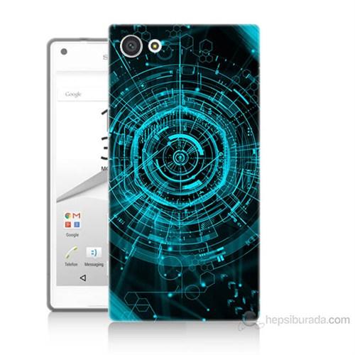 Teknomeg Sony Xperia Z5 Mini Asit Baskılı Silikon Kılıf