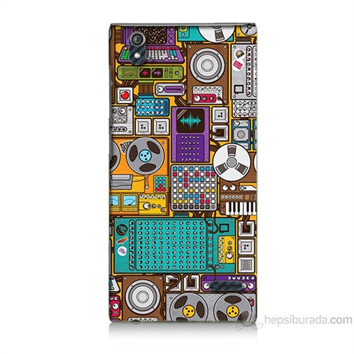 Teknomeg Turkcell T50 Teknoloji Baskılı Silikon Kılıf