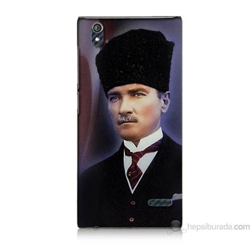 Teknomeg Turkcell T50 Mustafa Kemal Atatürk Baskılı Silikon Kılıf