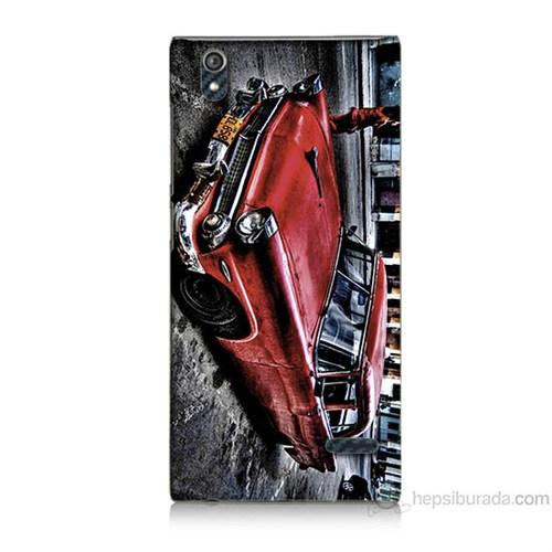 Teknomeg Turkcell T50 Klasik Araba Baskılı Silikon Kılıf