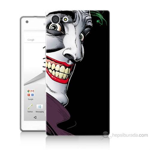 Teknomeg Sony Xperia Z5 Mini Joker Baskılı Silikon Kılıf
