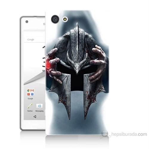 Teknomeg Sony Xperia Z5 Mini Assassins Creed Baskılı Silikon Kılıf