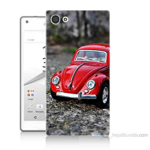 Teknomeg Sony Xperia Z5 Premium Volkswagen Baskılı Silikon Kılıf