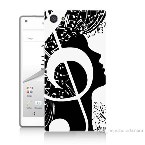 Teknomeg Sony Xperia Z5 Premium Notalar Baskılı Silikon Kılıf