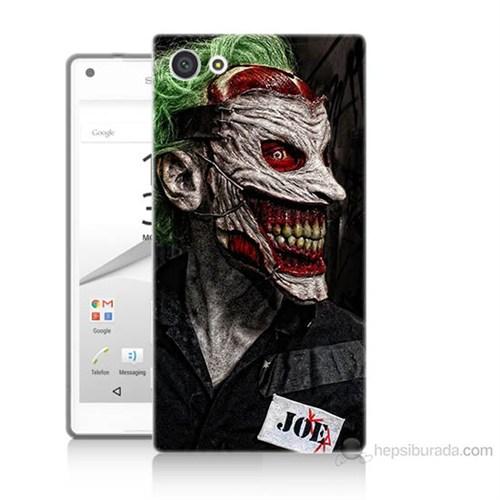 Teknomeg Sony Xperia Z5 Premium Joker Joe Baskılı Silikon Kılıf