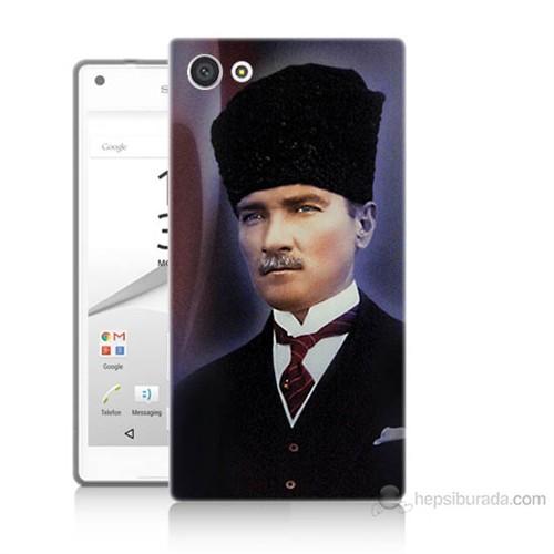 Teknomeg Sony Xperia Z5 Premium Mustafa Kemal Atatürk Baskılı Silikon Kılıf
