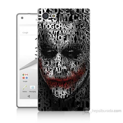 Teknomeg Sony Xperia Z5 Premium Joker Baskılı Silikon Kılıf