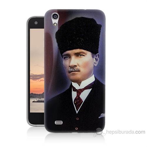 Teknomeg Vestel Venüs V3 5040 Mustafa Kemal Atatürk Baskılı Silikon Kılıf