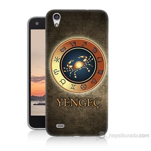 Teknomeg Vestel Venüs V3 5040 Yengeç Burcu Baskılı Silikon Kılıf