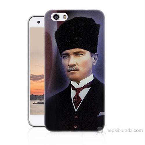 Teknomeg Vestel Venüs V3 5570 Mustafa Kemal Atatürk Baskılı Silikon Kılıf