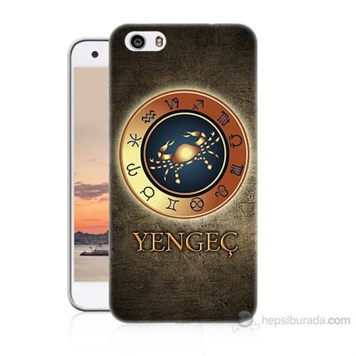 Teknomeg Vestel Venüs V3 5570 Yengeç Burcu Baskılı Silikon Kılıf