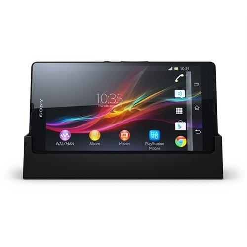 Sony Xperia Z Masa Üstü Şarj Cihazı Siyah