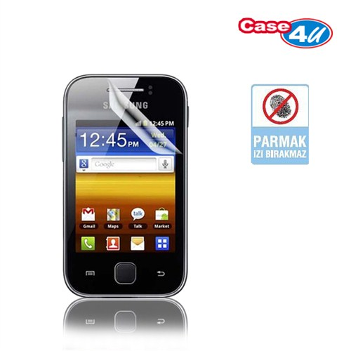 Case 4U Samsung Galaxy Y S5360 Ekran Koruyucu ( Parmak izi bırakmaz )