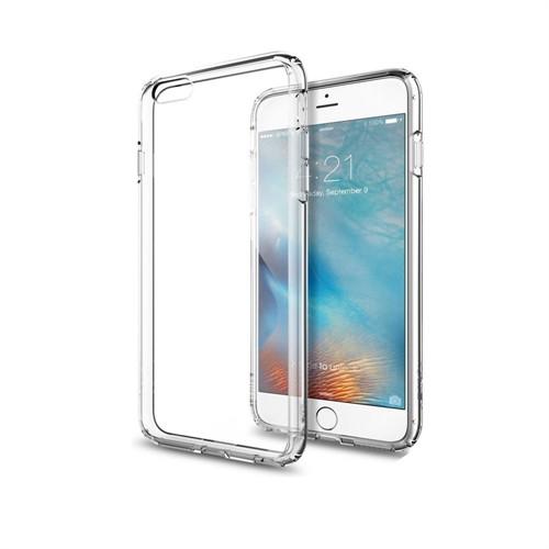 Melefoni Apple İphone 6 6S Kılıf İnce Sert Sararmayan Kılıf Ekran Koruyucu