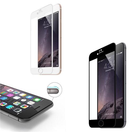 Melefoni Apple İphone 6 6S Ekran Koruyucu 3D Temperli Cam