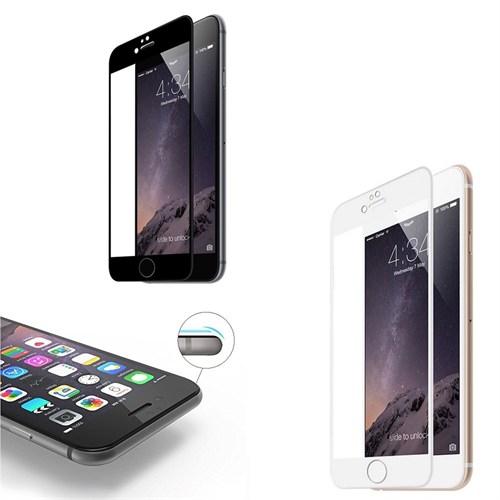 Melefoni Apple İphone 6 6S Plus Ekran Koruyucu 3D Temperli Cam