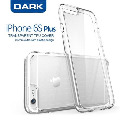 Dark Apple iPhone 6s Plus 0.5mm Ultra İnce Şeffaf Kılıf (DK-AC-CPI6SKL2PL)