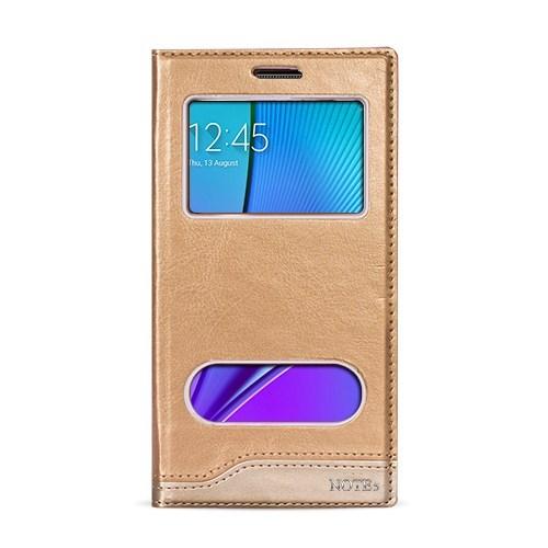 Volpawer Note 5 N920 Gizli Mıknatıslı Pencereli Kılıf