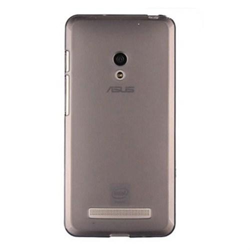 Cep Market Asus Zenfone 5 Lite A502cg Kılıf 0.2Mm Antrasit Silikon