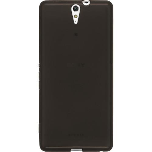 Cep Market Sony Xperia C5 Ultra Kılıf 0.2Mm Antrasit Silikon