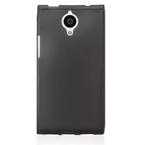 Cep Market General Mobile Discovery Elite Kılıf 0.2Mm Antrasit Silikon