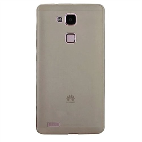 Cep Market Huawei Ascend Mate 7 Kılıf 0.2Mm Antrasit Silikon