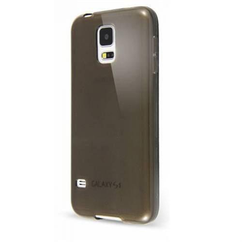 Cep Market Samsung Galaxy S5 Mini Kılıf 0.2Mm Antrasit Silikon