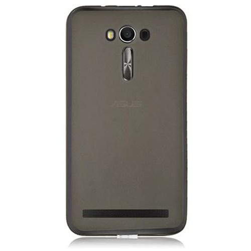 Cep Market Asus Zenfone 2 Laser 5.5 Kılıf 0.2Mm Antrasit Silikon