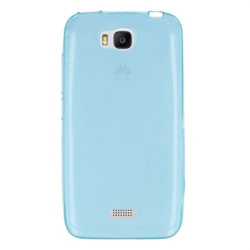 Cep Market Huawei Y5c Kılıf 0.2Mm Mavi Silikon