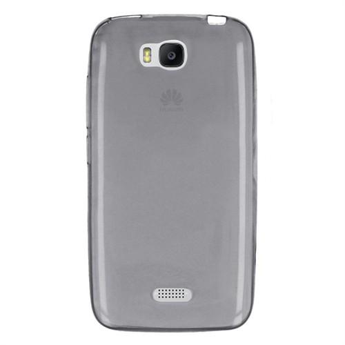 Cep Market Huawei Y5c Kılıf 0.2Mm Antrasit Silikon